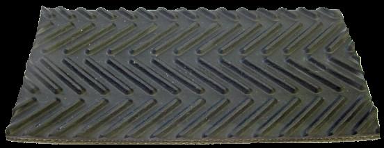 Riemen / Gurt Rundballenpresse Fischgräten Struktur, 220 mm